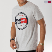 /achat-t-shirts/tommy-hilfiger-jeans-tee-shirt-circle-graphic-6081-gris-chine-172751.html