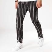 /achat-pantalons-carreaux/aarhon-pantalon-raye-19-006-noir-blanc-172968.html