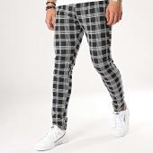 /achat-pantalons-carreaux/aarhon-pantalon-carreau-19-006-noir-blanc-172970.html