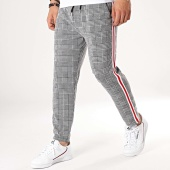 /achat-pantalons-carreaux/aarhon-pantalon-carreaux-avec-bandes-18-304-gris-noir-172974.html