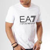 aebadd9f643 EA7 - Tee Shirt 3GPT01-PJ03Z Blanc