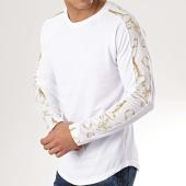 /achat-t-shirts-manches-longues/frilivin-tee-shirt-oversize-a-manches-longues-avec-bandes-5200-blanc-renaissance-172850.html
