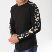 /achat-t-shirts-manches-longues/frilivin-tee-shirt-oversize-a-manches-longues-avec-bandes-5200-noir-renaissance-172852.html