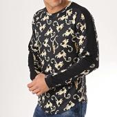 /achat-t-shirts-manches-longues/frilivin-tee-shirt-oversize-a-manches-longues-avec-bandes-5200-noir-renaissance-172854.html