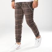 /achat-pantalons-carreaux/frilivin-pantalon-carreaux-1538-marron-noir-172870.html