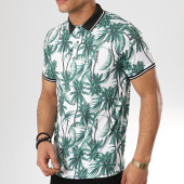 /achat-polos-manches-courtes/frilivin-polo-manches-courtes-mp922-blanc-vert-floral-172894.html