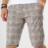 /achat-shorts-chinos/frilivin-short-a-carreaux-yk-3-beige-bleu-marine-172912.html