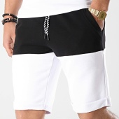/achat-shorts-jogging/lbo-short-jogging-bicolore-666-noir-blanc-173081.html