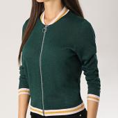 /achat-vestes/only-veste-zippee-femme-josine-vert-172853.html