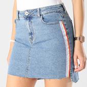 /achat-jupes/only-jupe-femme-avec-bandes-elifa-bleu-denim-172874.html