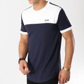 /achat-t-shirts-longs-oversize/project-x-tee-shirt-oversize-1910005-bleu-marine-blanc-172921.html