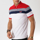 /achat-polos-manches-courtes/superdry-polo-manches-courtes-miami-feeder-gris-clair-chine-rouge-bleu-marine-172907.html