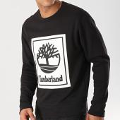 /achat-sweats-col-rond-crewneck/timberland-sweat-crewneck-stack-logo-tb0a1o9h-noir-blanc-172836.html