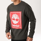 /achat-sweats-col-rond-crewneck/timberland-sweat-crewneck-stack-logo-tb0a1o9h-gris-anthracite-rouge-172837.html