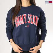 /achat-sweats-col-rond-crewneck/tommy-hilfiger-jeans-sweat-crewneck-femme-clean-collegiate-6050-bleu-marine-172877.html