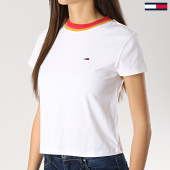 /achat-t-shirts/tommy-hilfiger-jeans-tee-shirt-crop-femme-solid-6255-baby-blanc-172895.html