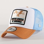 /achat-trucker/new-era-casquette-trucker-oregon-eagle-11973035-camel-blanc-bleu-turquoise-173209.html