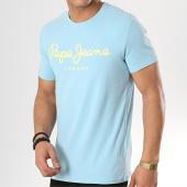 /achat-t-shirts/pepe-jeans-tee-shirt-original-stretch-bleu-clair-173155.html