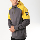 /achat-sweats-capuche/the-north-face-sweat-capuche-fine-box-3bnx-gris-anthracite-jaune-173173.html
