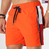 /achat-maillots-de-bain/tommy-hilfiger-jeans-short-de-bain-medium-drawstring-1079-orange-173152.html