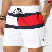 /achat-maillots-de-bain/tommy-hilfiger-jeans-short-de-bain-medium-drawstring-1070-blanc-173177.html