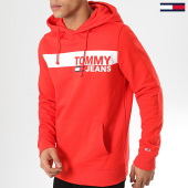 /achat-sweats-capuche/tommy-hilfiger-jeans-sweat-capuche-essential-graphic-6047-rouge-173183.html