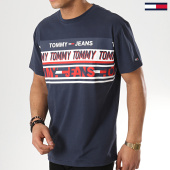 /achat-t-shirts/tommy-hilfiger-jeans-tee-shirt-essential-tommy-6090-bleu-marine-173186.html