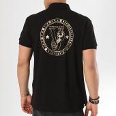 /achat-polos-manches-courtes/versace-jeans-polo-manches-courtes-b3gtb7p1-36571-noir-dore-173168.html
