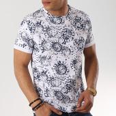 /achat-t-shirts/aarhon-tee-shirt-91274-blanc-bleu-marine-173382.html