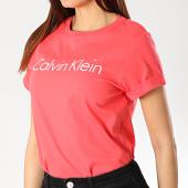 /achat-t-shirts/calvin-klein-tee-shirt-femme-0qs5789e-rouge-173362.html