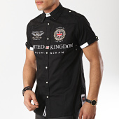 /achat-chemises-manches-courtes/geographical-norway-chemise-manches-courtes-patchs-brodes-zucco-noir-173226.html