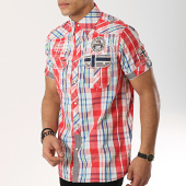 /achat-chemises-manches-courtes/geographical-norway-chemise-manches-courtes-patchs-brodes-ootopia-rouge-vert-bleu-clair-173232.html