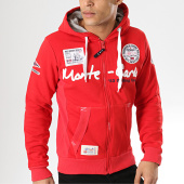 /achat-sweats-zippes-capuche/geographical-norway-sweat-zippe-capuche-patchs-brodes-golden-rouge-173303.html