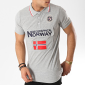 /achat-polos-manches-courtes/geographical-norway-polo-manches-courtes-patchs-brodes-kayfour-gris-chine-173373.html