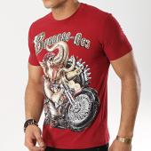 /achat-t-shirts/john-h-tee-shirt-1905-bordeaux-173295.html