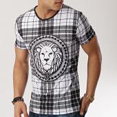 /achat-t-shirts/john-h-tee-shirt-tsm-18-blanc-carreaux-noir-173309.html