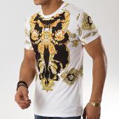 /achat-t-shirts/john-h-tee-shirt-1938-blanc-noir-renaissance-jaune-173321.html
