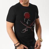 /achat-t-shirts/john-h-te-shirt-1927-noir-rouge-173322.html