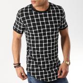 /achat-t-shirts-longs-oversize/john-h-tee-shirt-oversize-1937-blanc-noir-173325.html