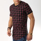 /achat-t-shirts-longs-oversize/john-h-tee-shirt-oversize-1937-noir-bordeaux-173326.html