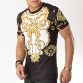 /achat-t-shirts/john-h-tee-shirt-1938-noir-blanc-renaissance-jaune-173337.html