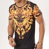 /achat-t-shirts/john-h-tee-shirt-tsm-16-noir-renaissance-jaune-173338.html