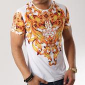 /achat-t-shirts/john-h-tee-shirt-tsm-16-blanc-renaissance-jaune-173339.html