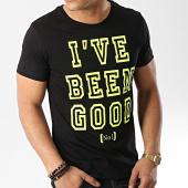 /achat-t-shirts/john-h-tee-shirt-tsm-26-noir-jaune-fluo-173340.html