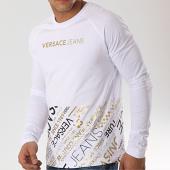 /achat-t-shirts-manches-longues/versace-jeans-tee-shirt-manches-longues-print-45-b3gta76m-36610-blanc-dore-173253.html