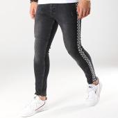 /achat-jeans/classic-series-jean-slim-avec-bandes-2678-noir-173546.html