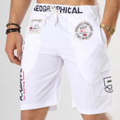 /achat-maillots-de-bain/geographical-norway-short-de-bain-patchs-brodes-quorban-blanc-173574.html