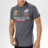/achat-polos-manches-courtes/geographical-norway-polo-manches-courtes-patchs-brodes-keratine-gris-anthracite-173588.html