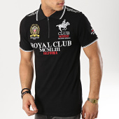 /achat-polos-manches-courtes/geographical-norway-polo-manches-courtes-patchs-brodes-keratine-noir-173590.html