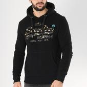 /achat-sweats-capuche/superdry-sweat-capuche-vintage-logo-monochrome-noir-dore-173462.html